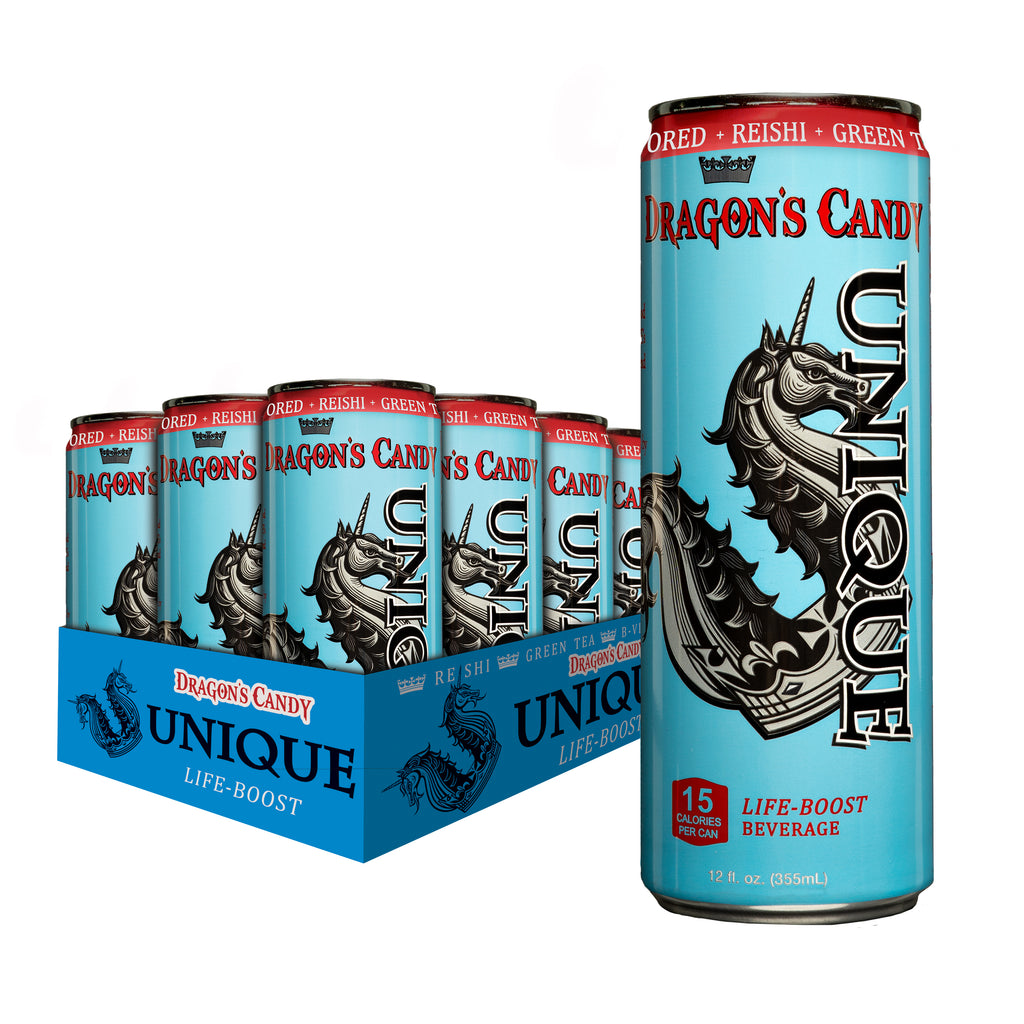 12 ct. Case of 12 oz. Unique Life-Boost Dragon's Candy