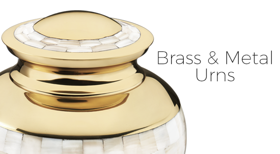 Brass and Metal Urns