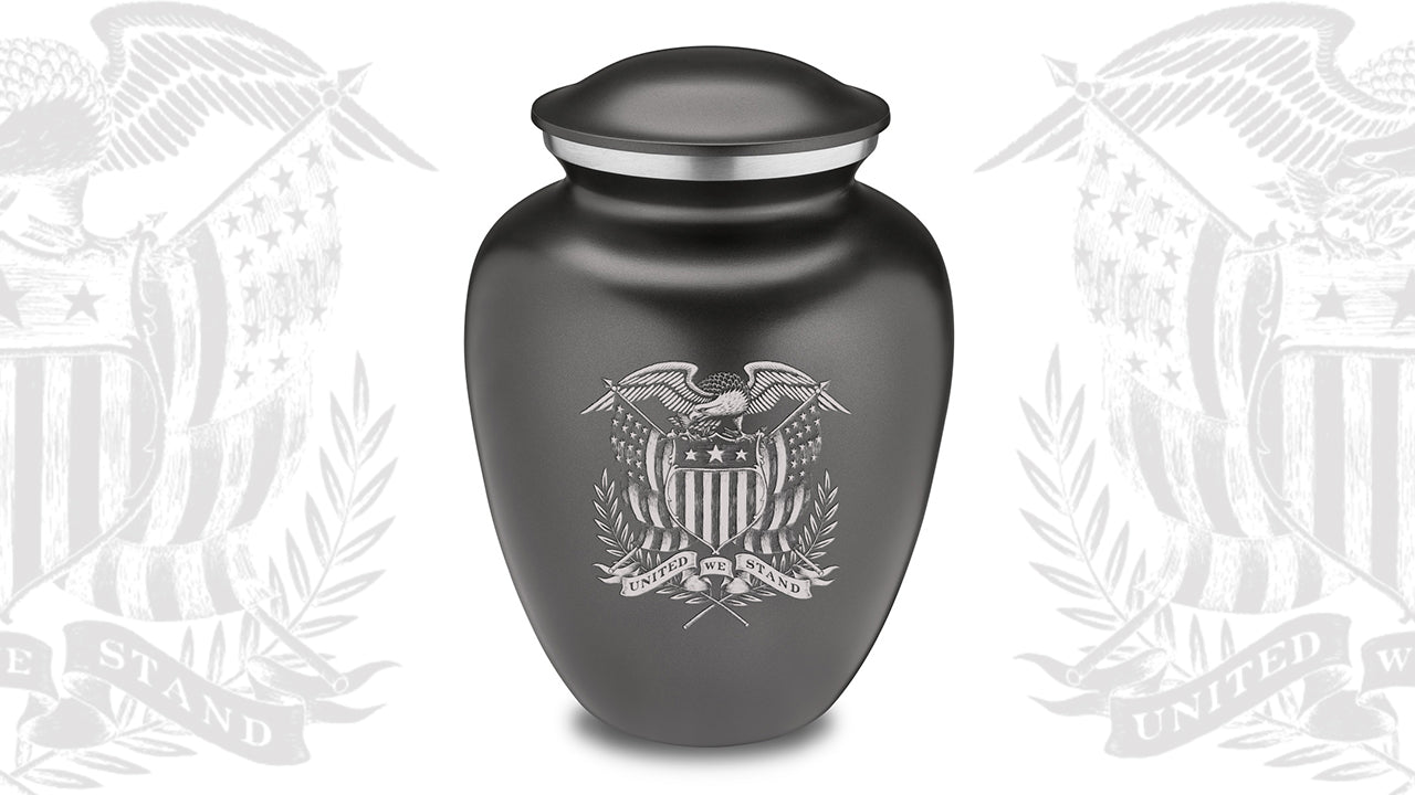 Embrace American Glory Cremation Urn For Ashes