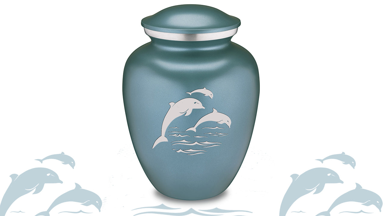 Embrace Dolphin Cremation Urn For Ashes