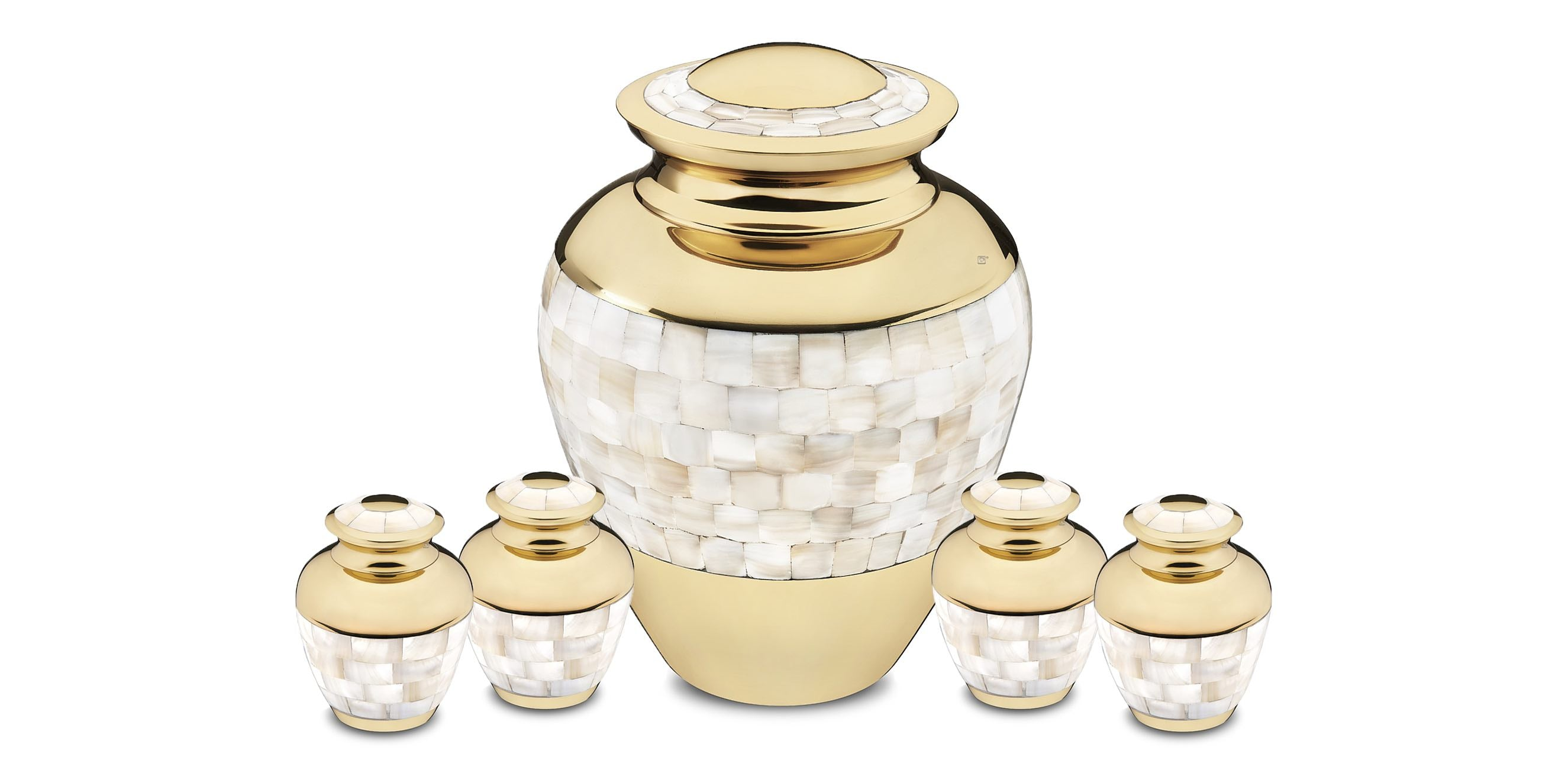 Cremation Urns Mother of Pearl High Quality - GetUrns