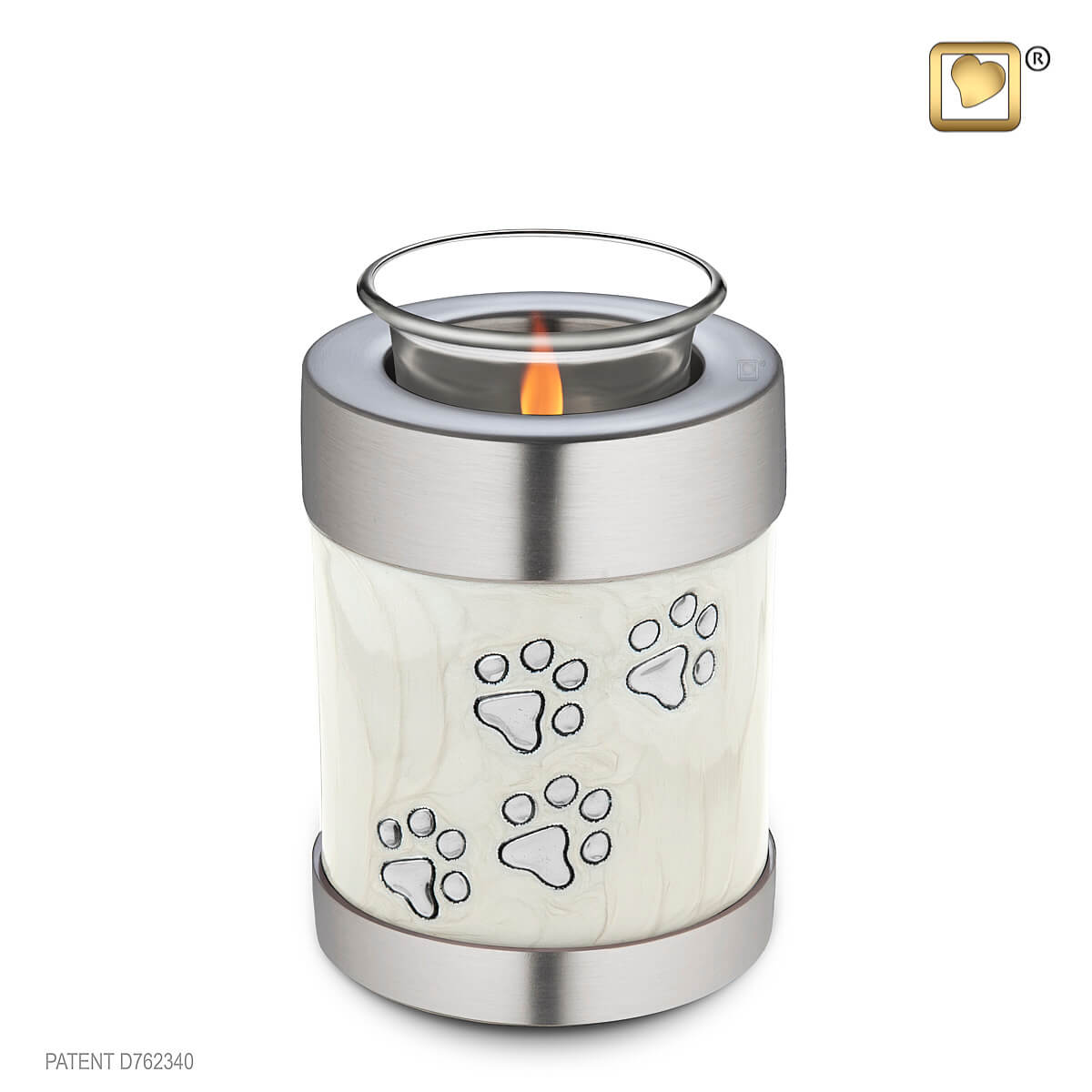 Pet Cremation Tealight Candle Holder Urn