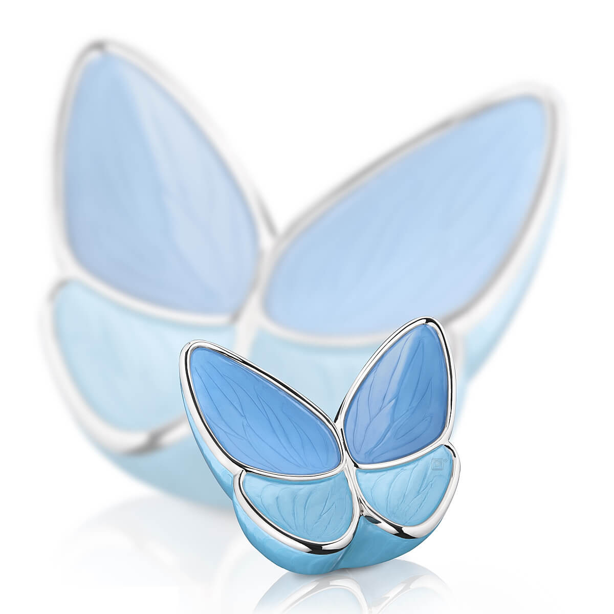 Keepsake Wings of Hope Blue Cremation Urn