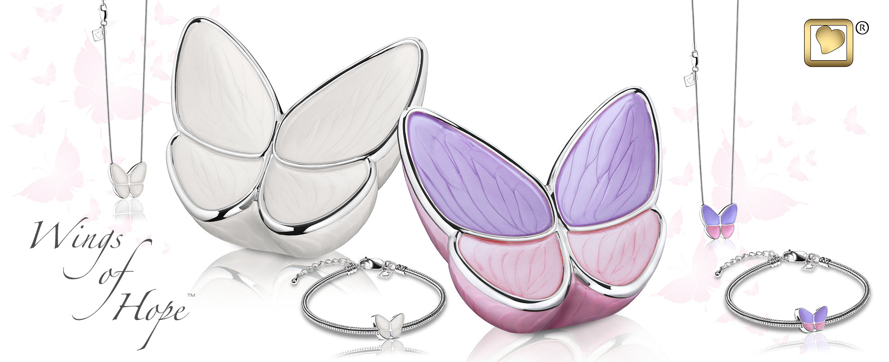 GetUrns wings of hope butterfly urns