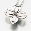 Sterling Silver Dogwood Blossom Pendant Cremation Jewelry
