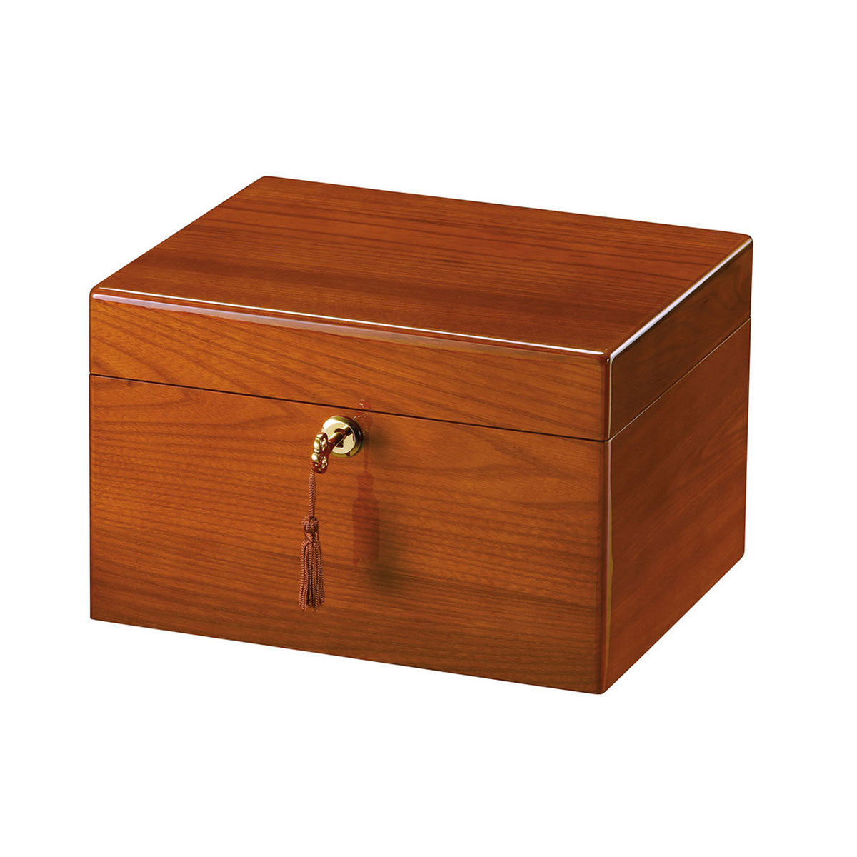 Devotion II - Oak Chest Urn
