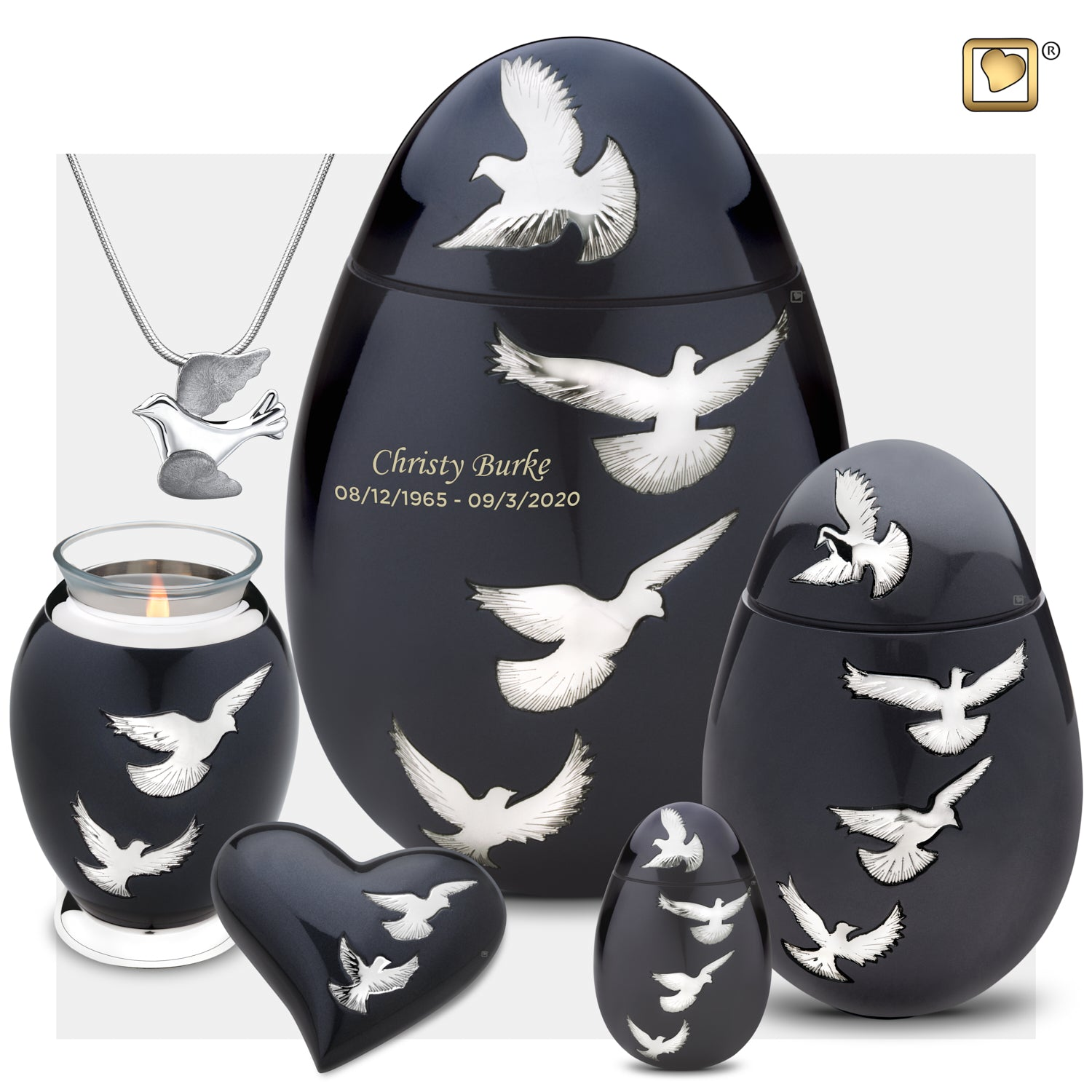 Adult Nirvana Adieu Cremation Urn