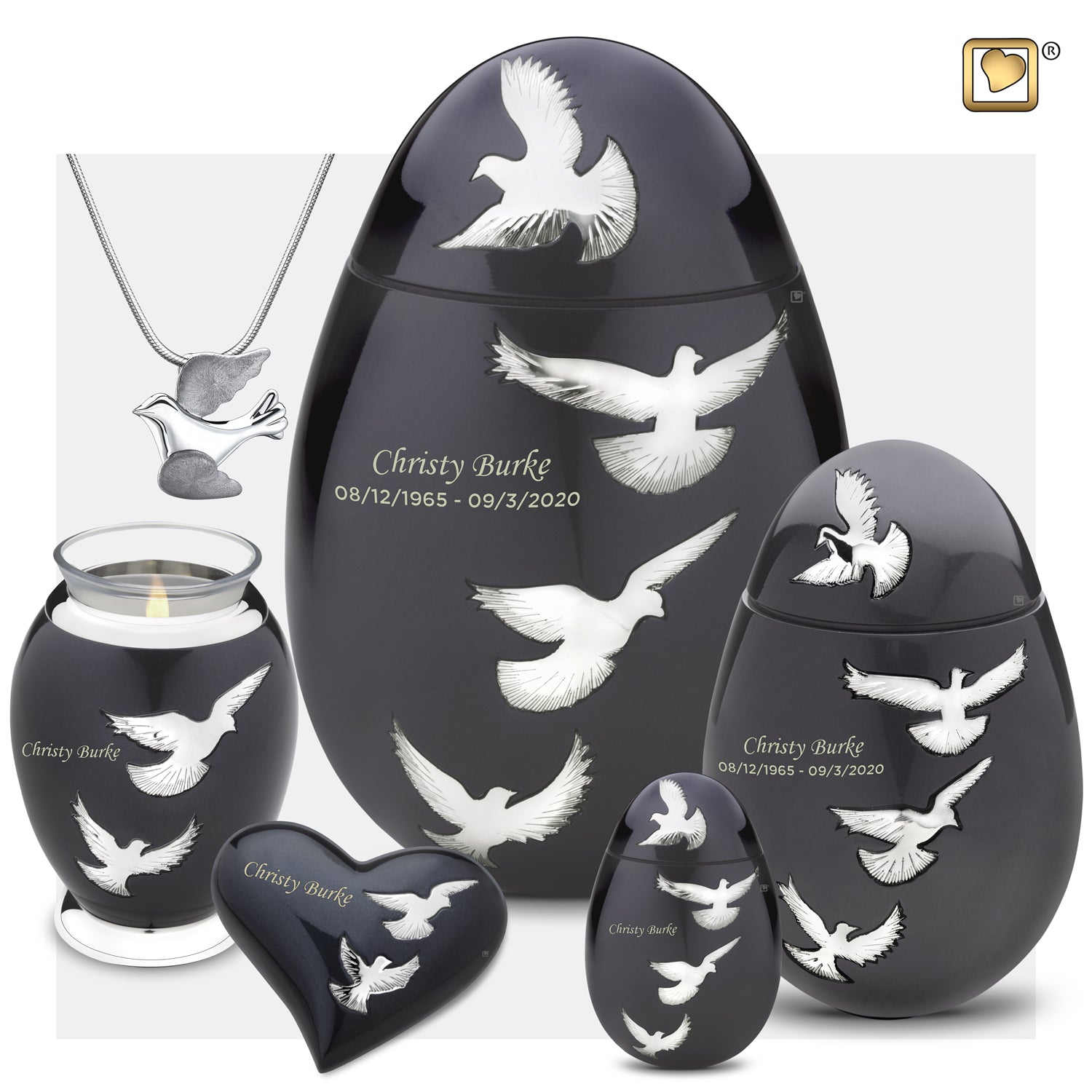 Keepsake Nirvana Adieu Cremation Urn