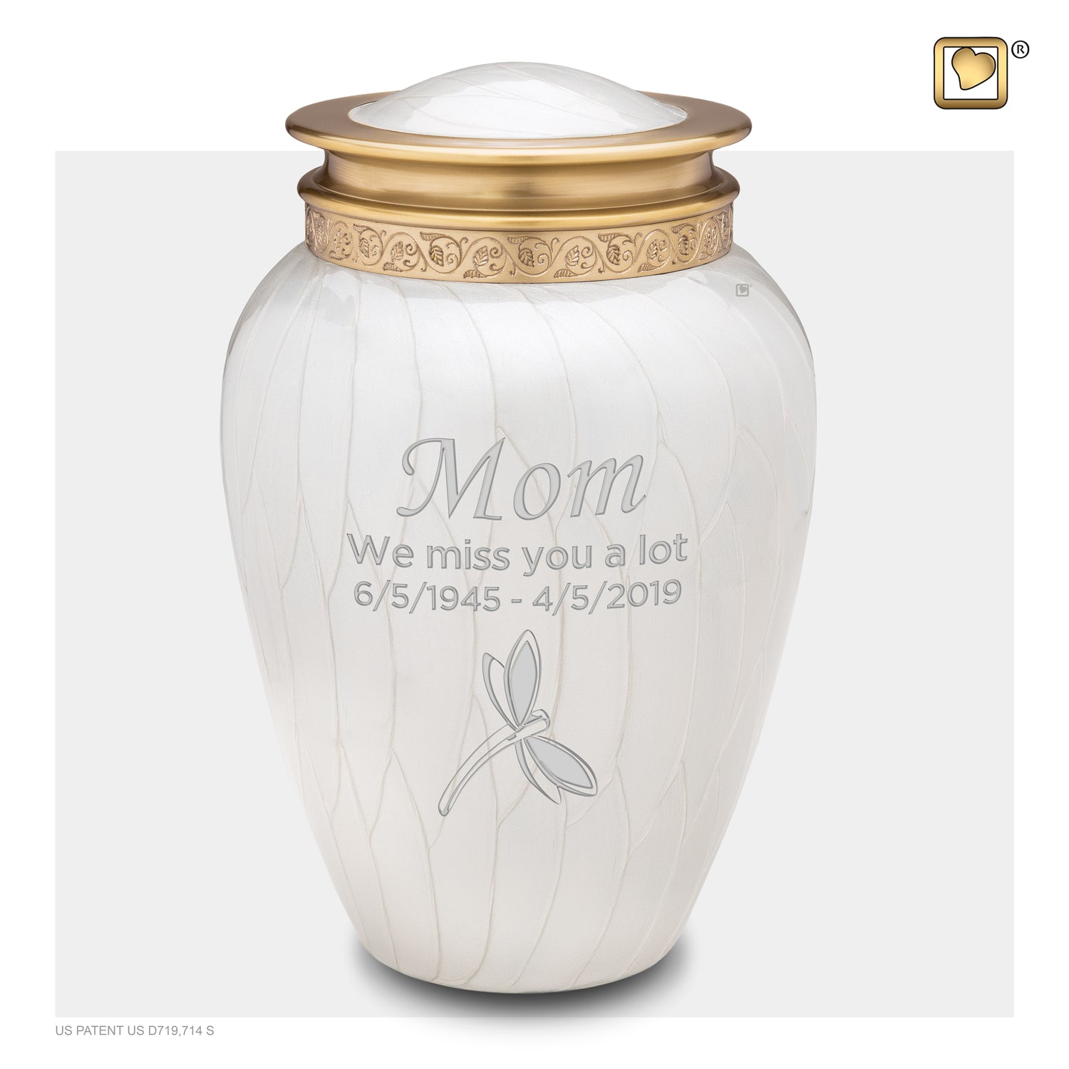 Adult Blessing Pearl Cremation Urn
