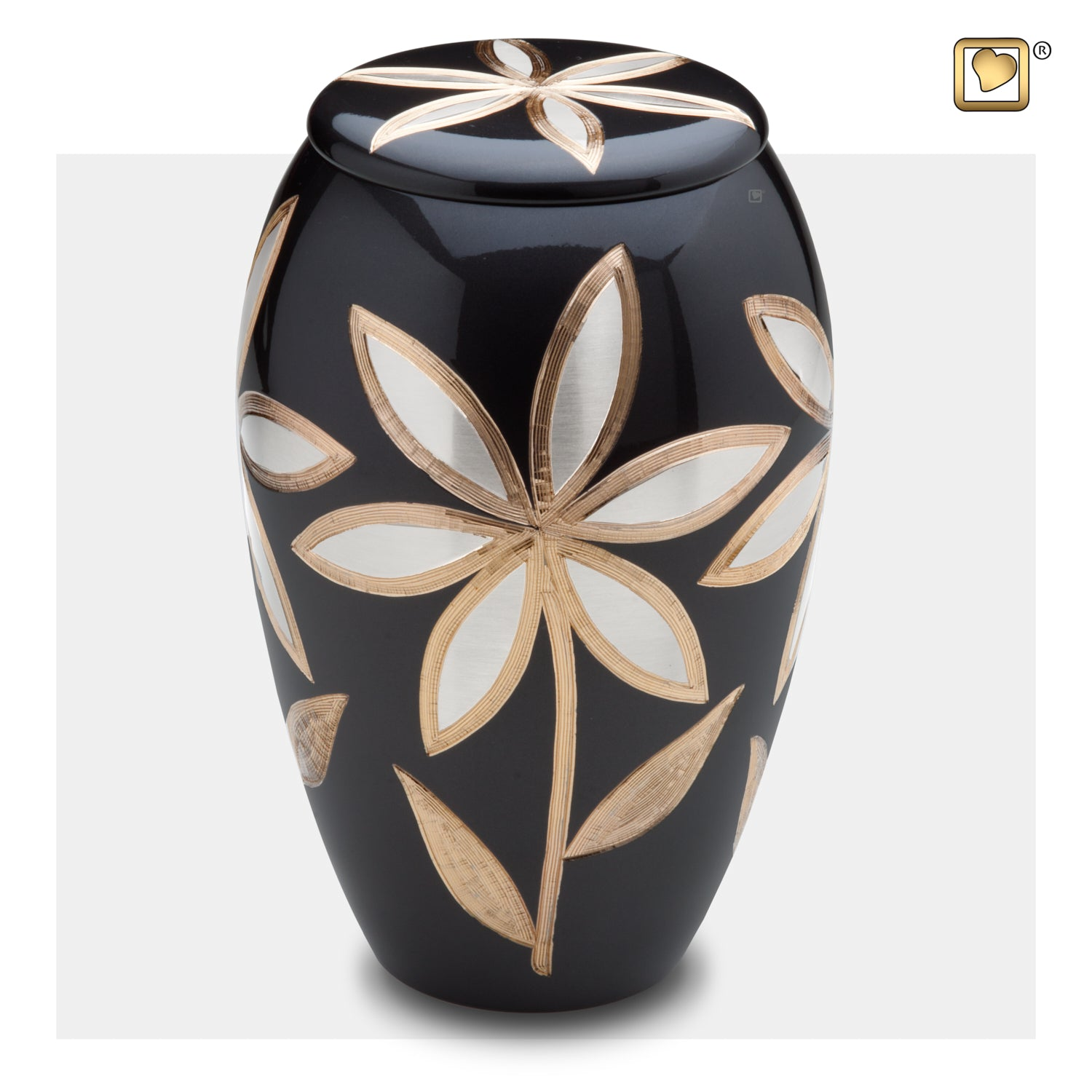 Adult Lilies Cremation Urn