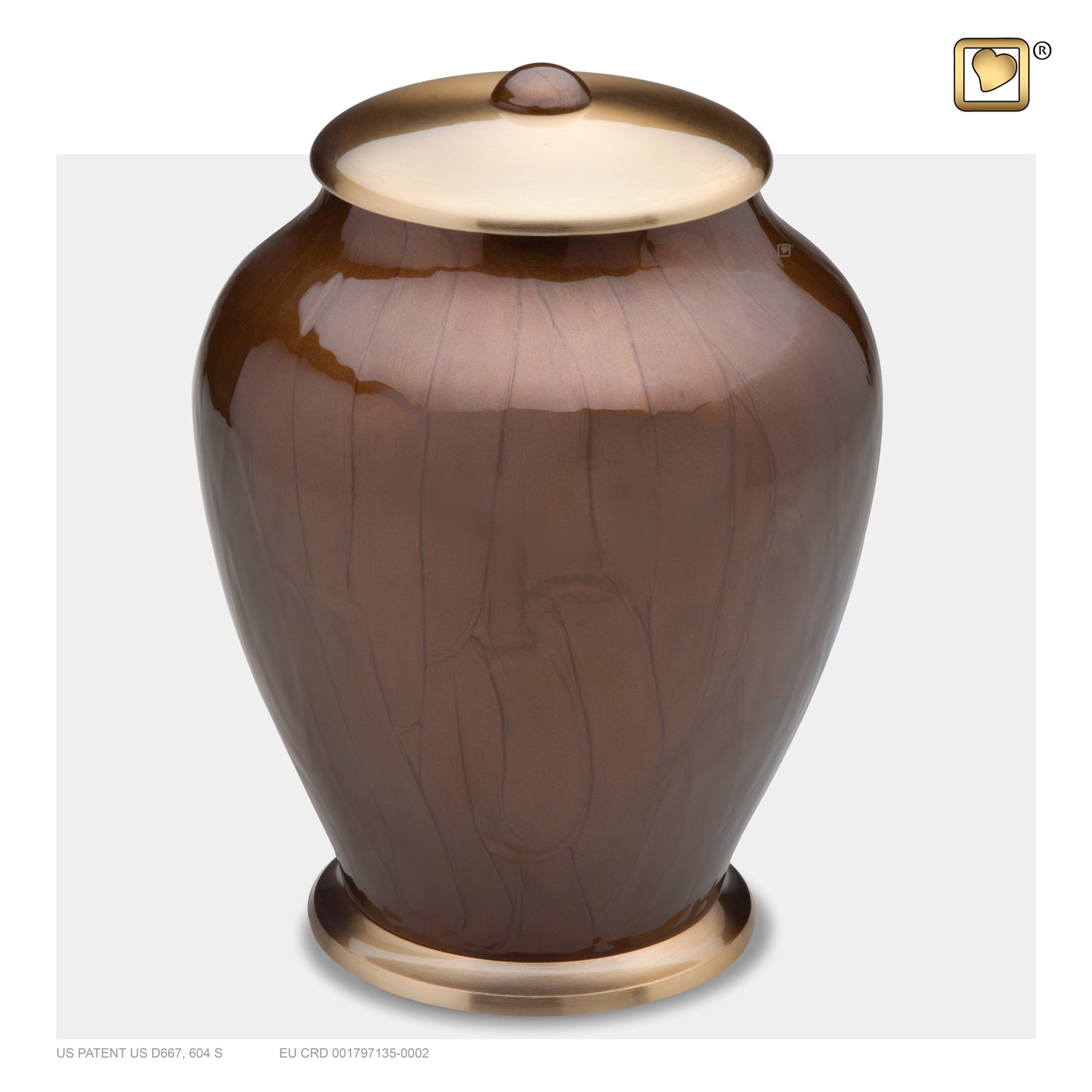 Adult Tall Simplicity Bronze Cremation Urn