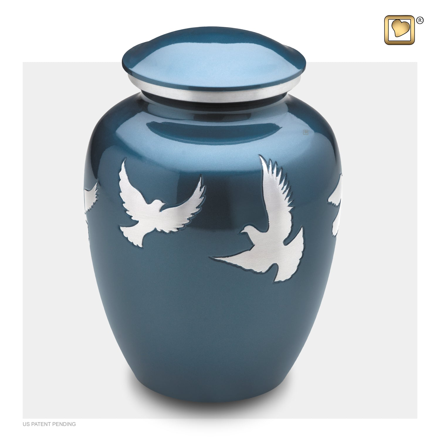 Adult Flying Doves Cremation Urn