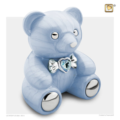 CuddleBear Blue Cremation Urn