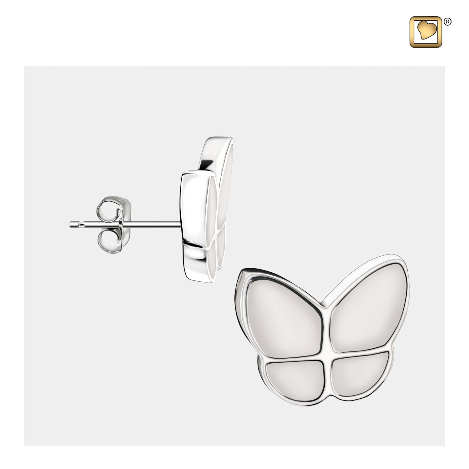 Wings of Hope Butterfly Pearl Earrings