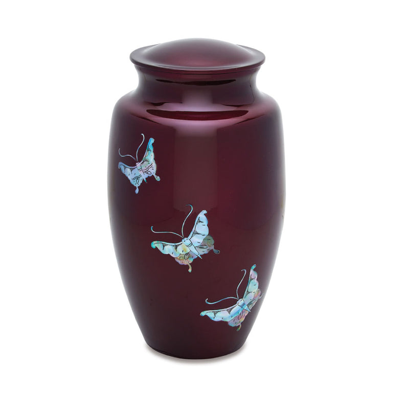 Butterfly Tranquility Cremation Urn