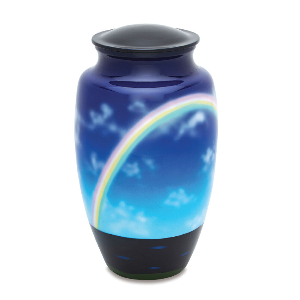 Rainbow Adult Cremation Urn