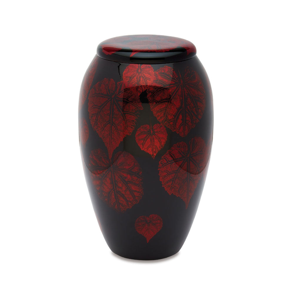 Crimson Leaves Adult Urn