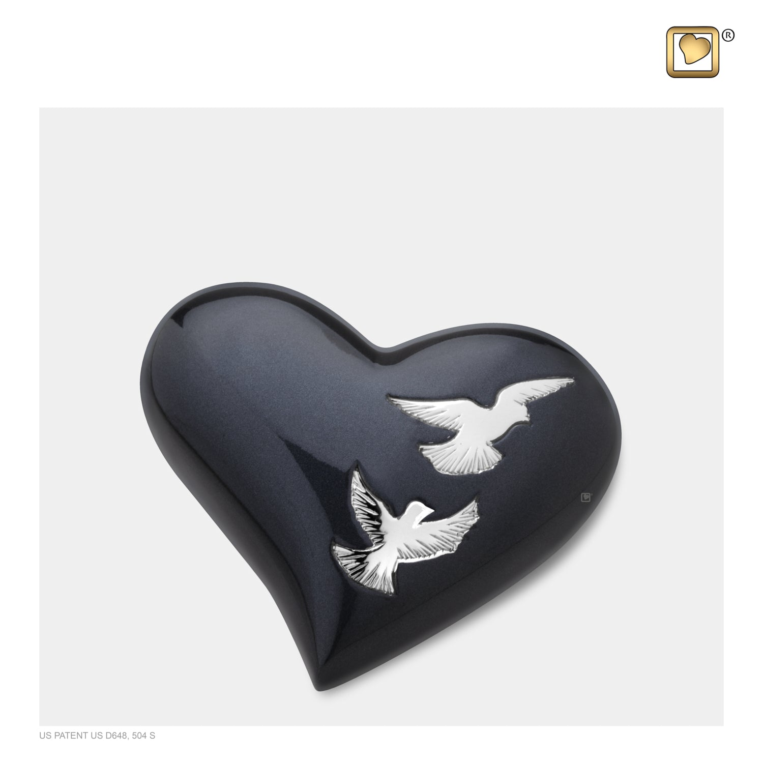 Heart Nirvana Adieu Cremation Urn