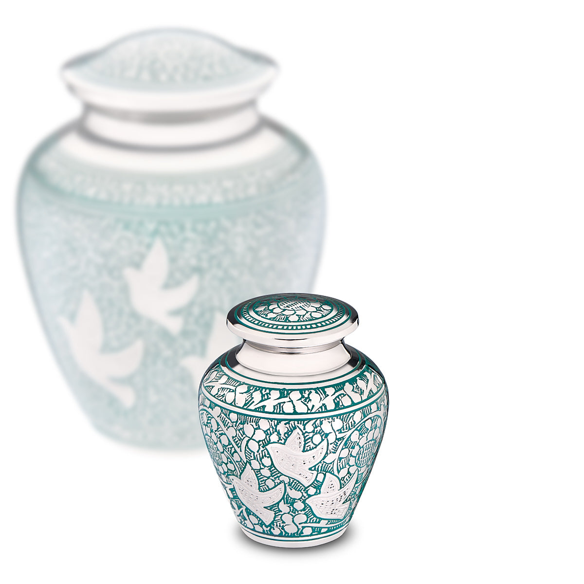 Keepsake Soaring Doves Cremation Urn