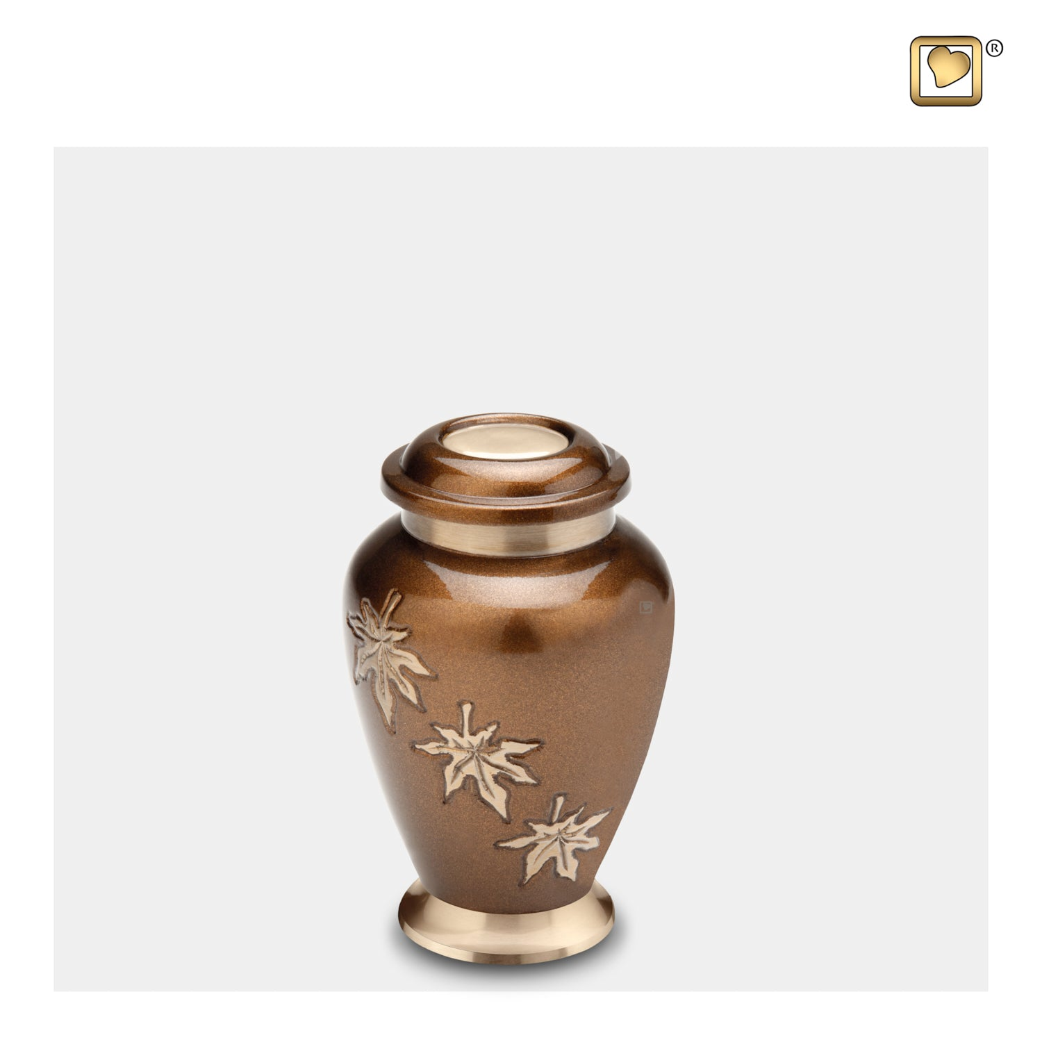 Keepsake Falling Leaves Cremation Urn