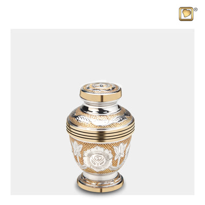 Keepsake Ornate Floral Cremation Urn