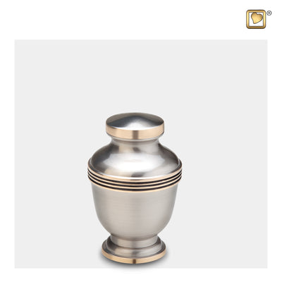 Keepsake Elegant Pewter Cremation Urn