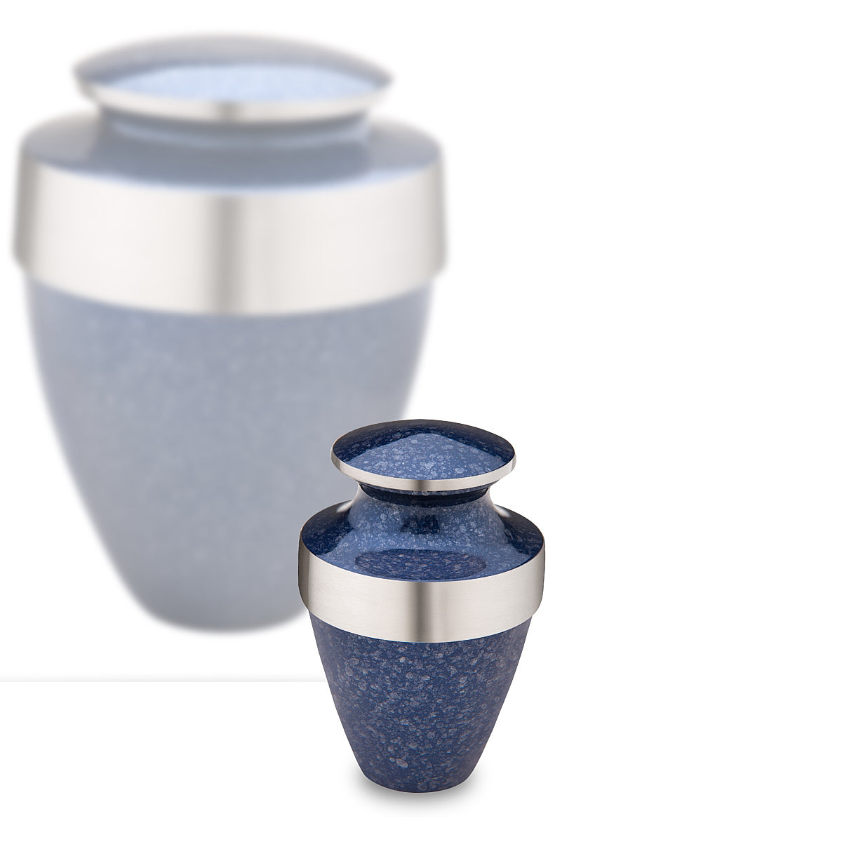 Keepsake Eternity Speckled Indigo Cremation Urn
