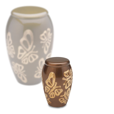 Keepsake Butterflies Cremation Urn