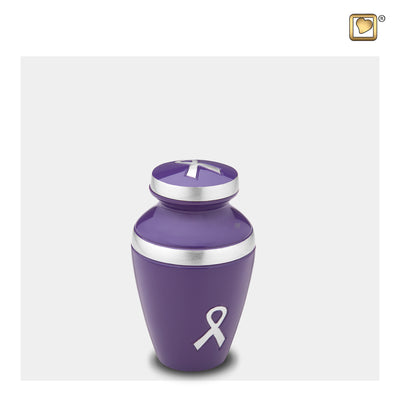 Keepsake Awareness Purple Cremation Urn