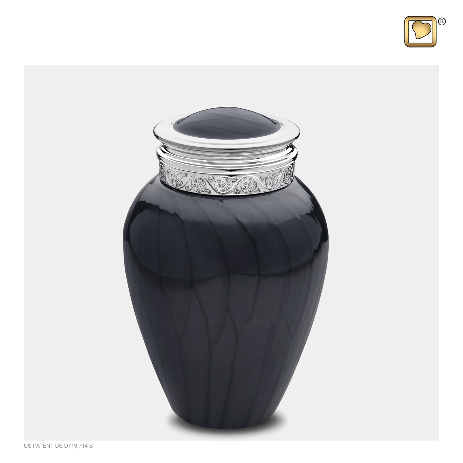 Medium Blessing Midnight Cremation Urn