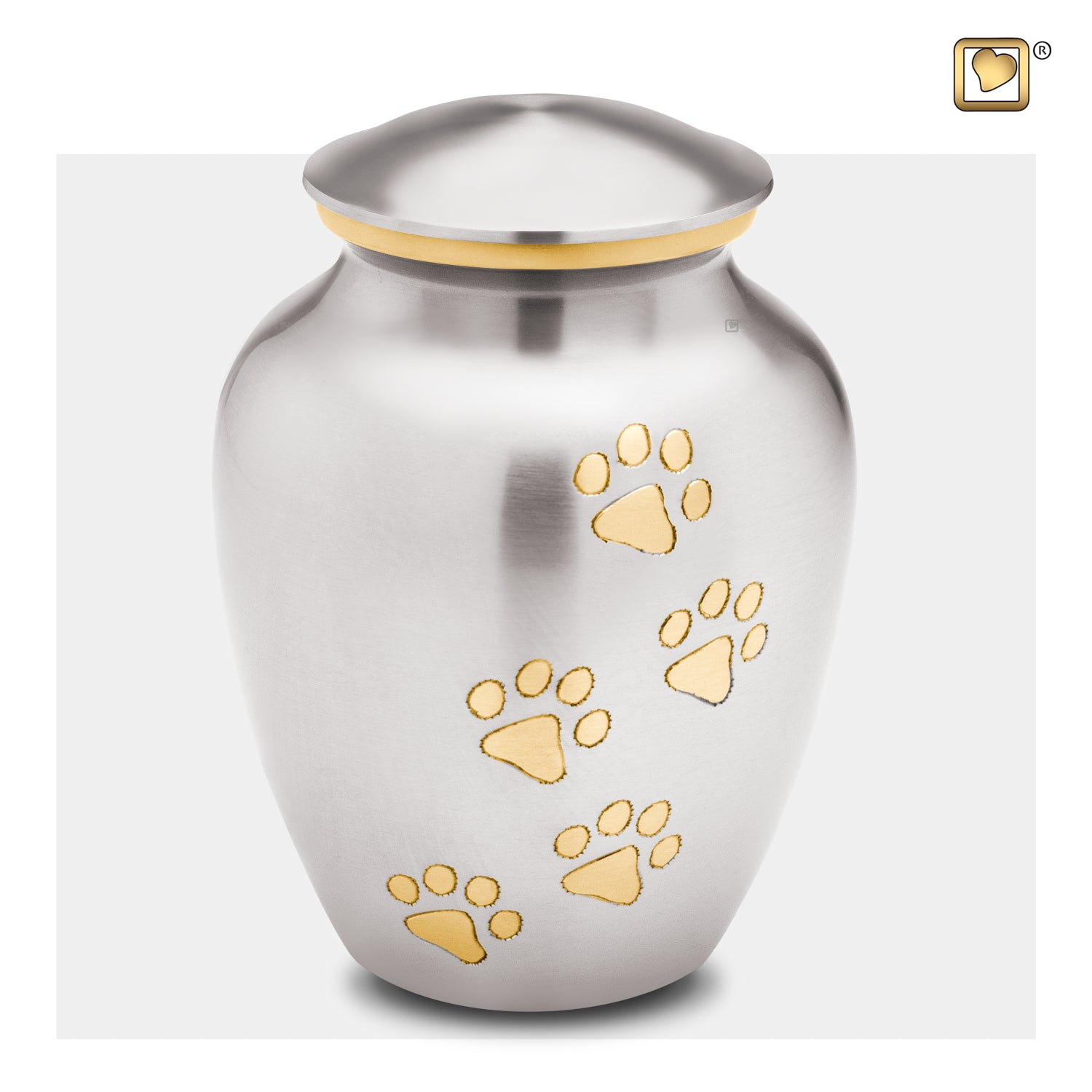 Classic Pewter Pet Large Urn