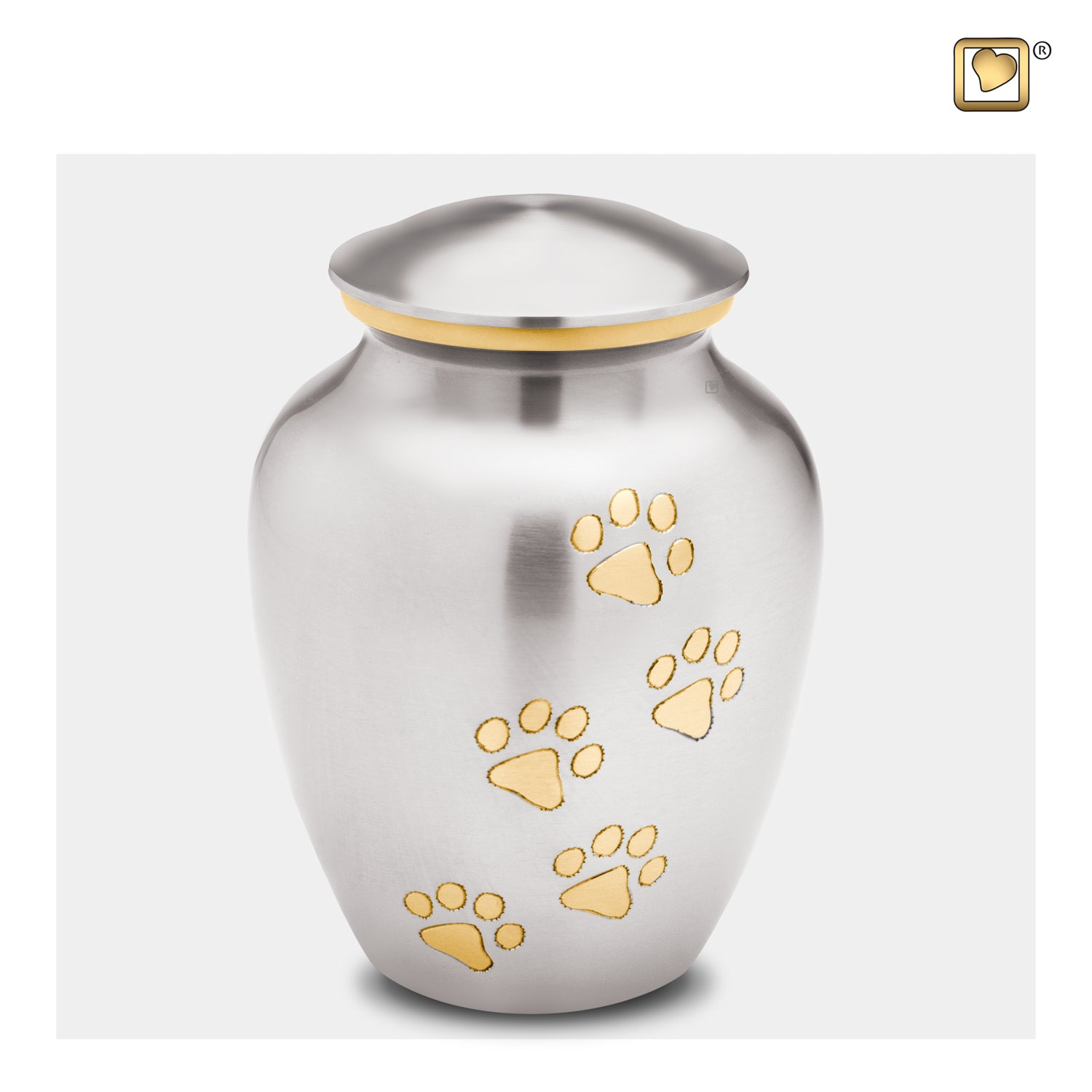 Classic Pewter Pet Medium Urn