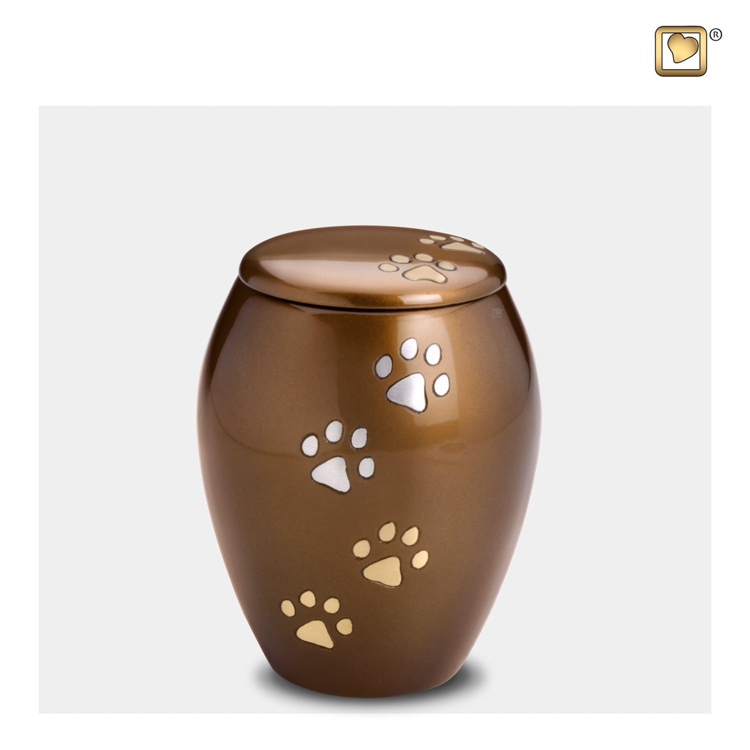 Majestic Paws Small Pet Urn
