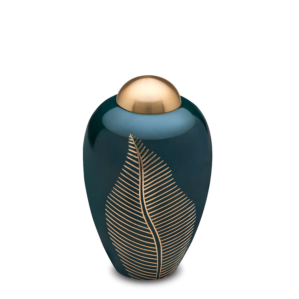 Elegant Leaf Pet Small Urn