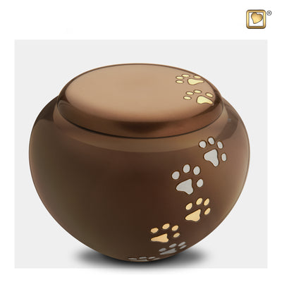 Bronze Cuddle Large Pet Urn
