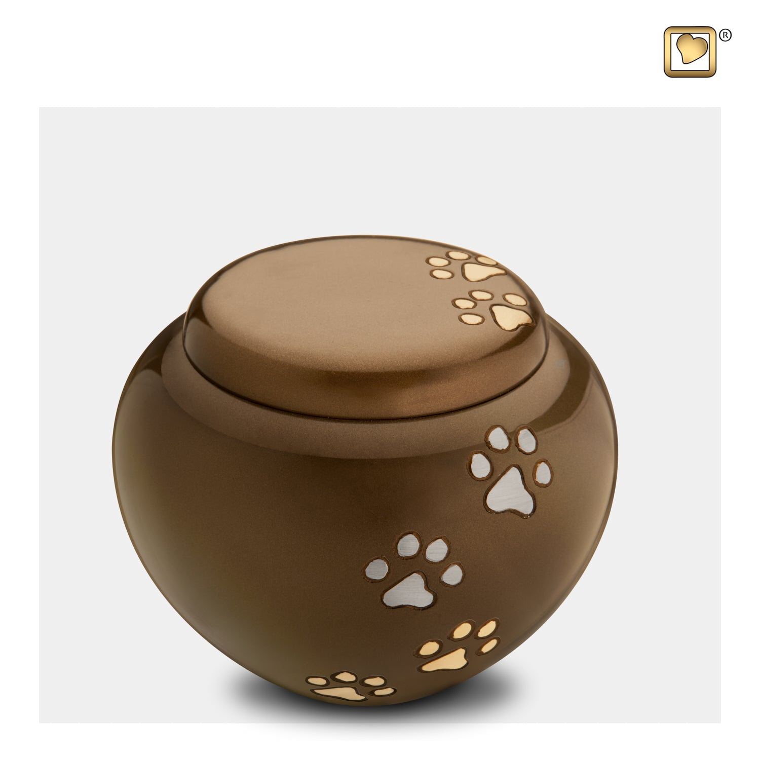 Bronze Cuddle Medium Pet Urn