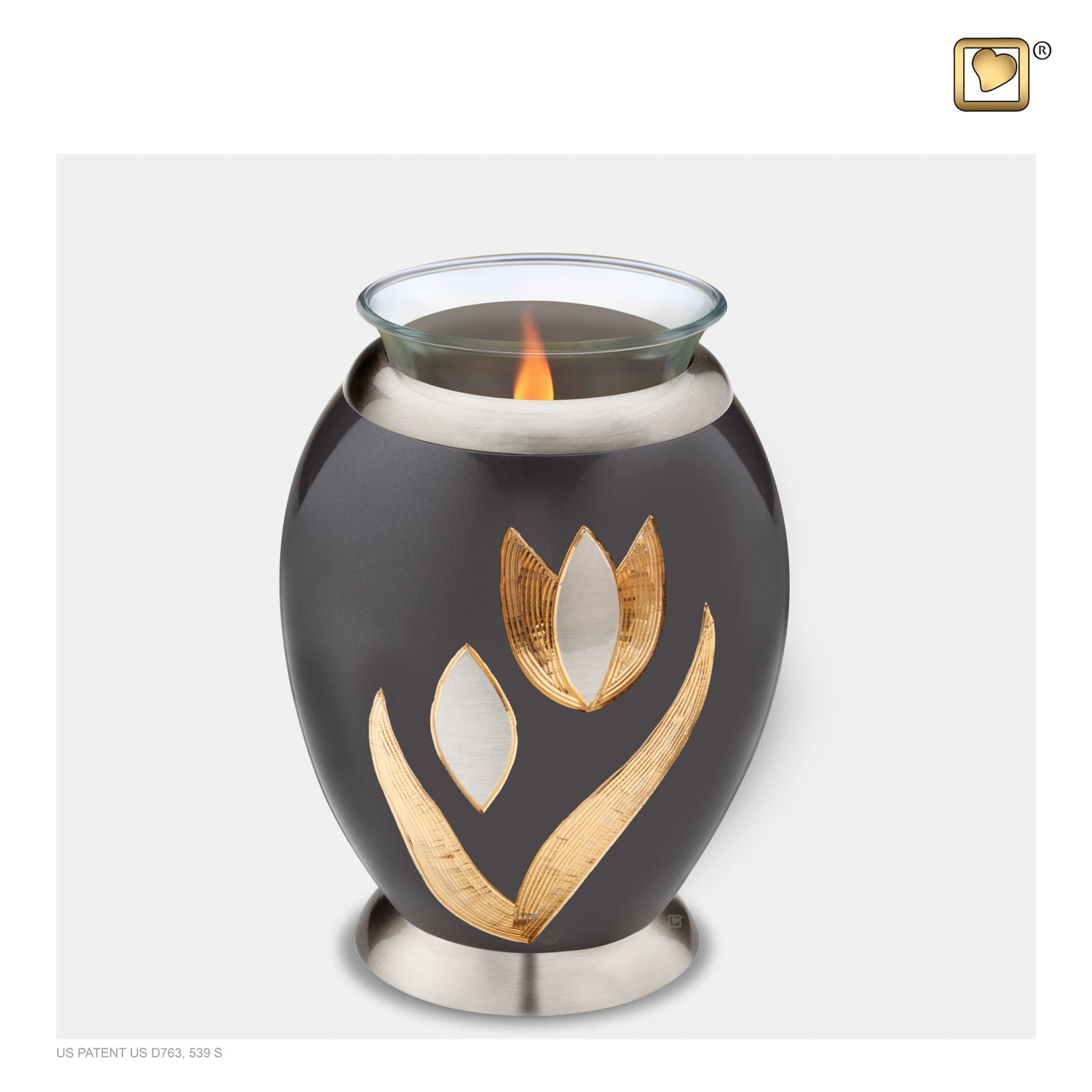 Tealight Tulip Cremation Urn