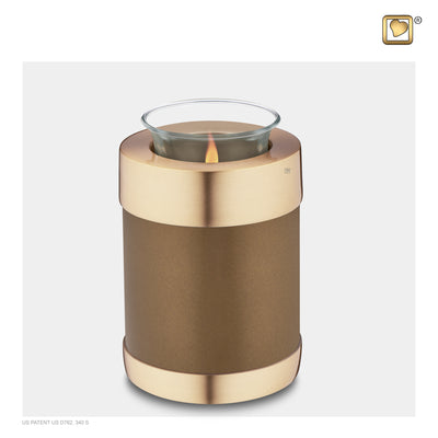 Tealight Bronze Cremation Urn