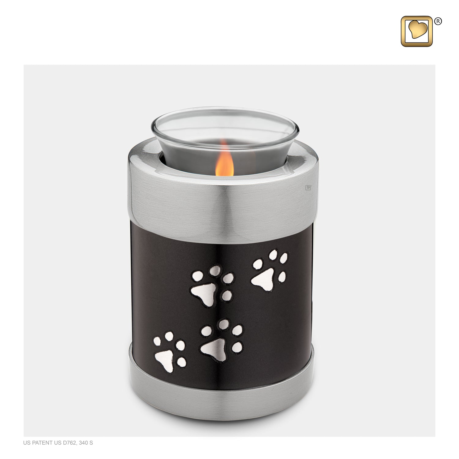 Tealight Pet Midnight Urn