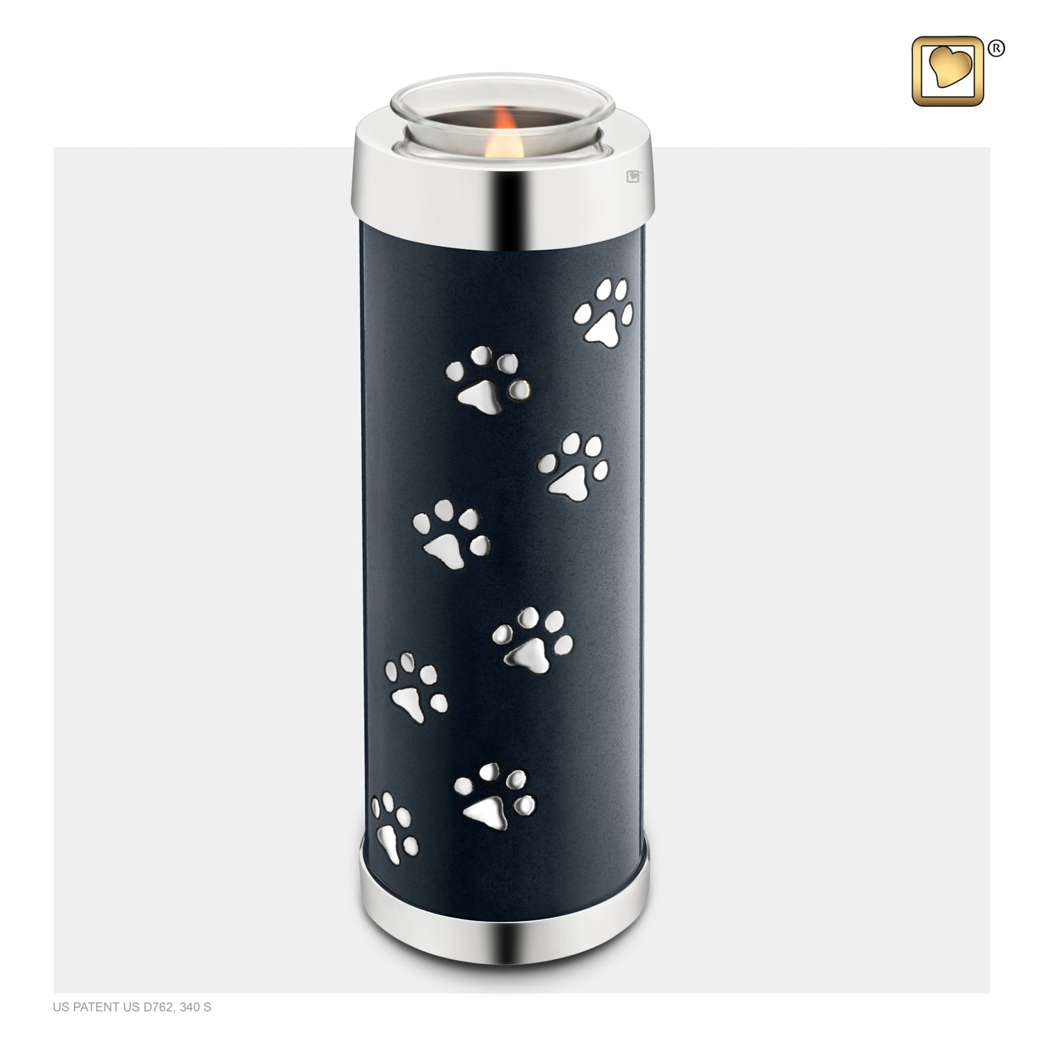 Tealight Pet Midnight Tall Urn