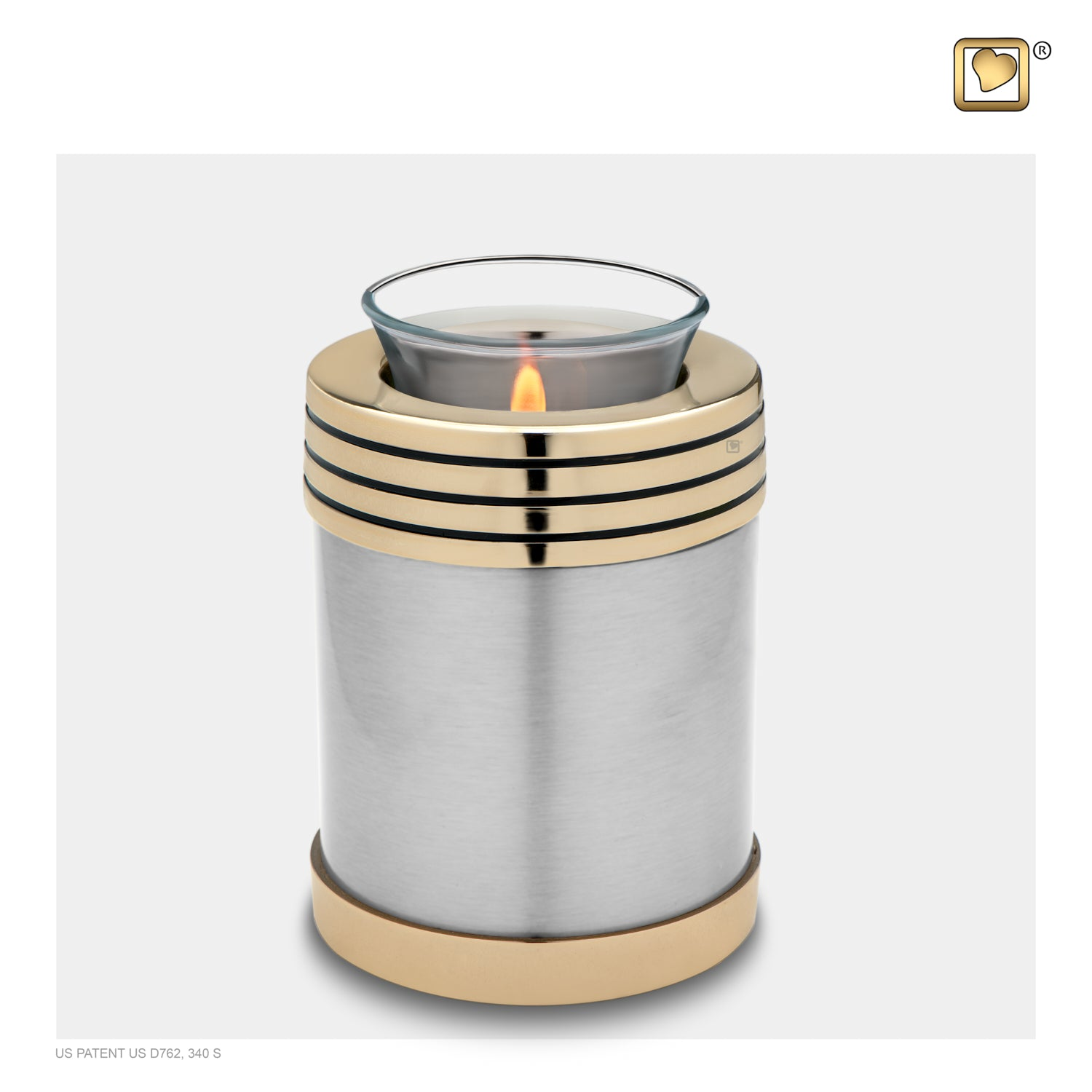 Tealight Pewter Cremation Urn