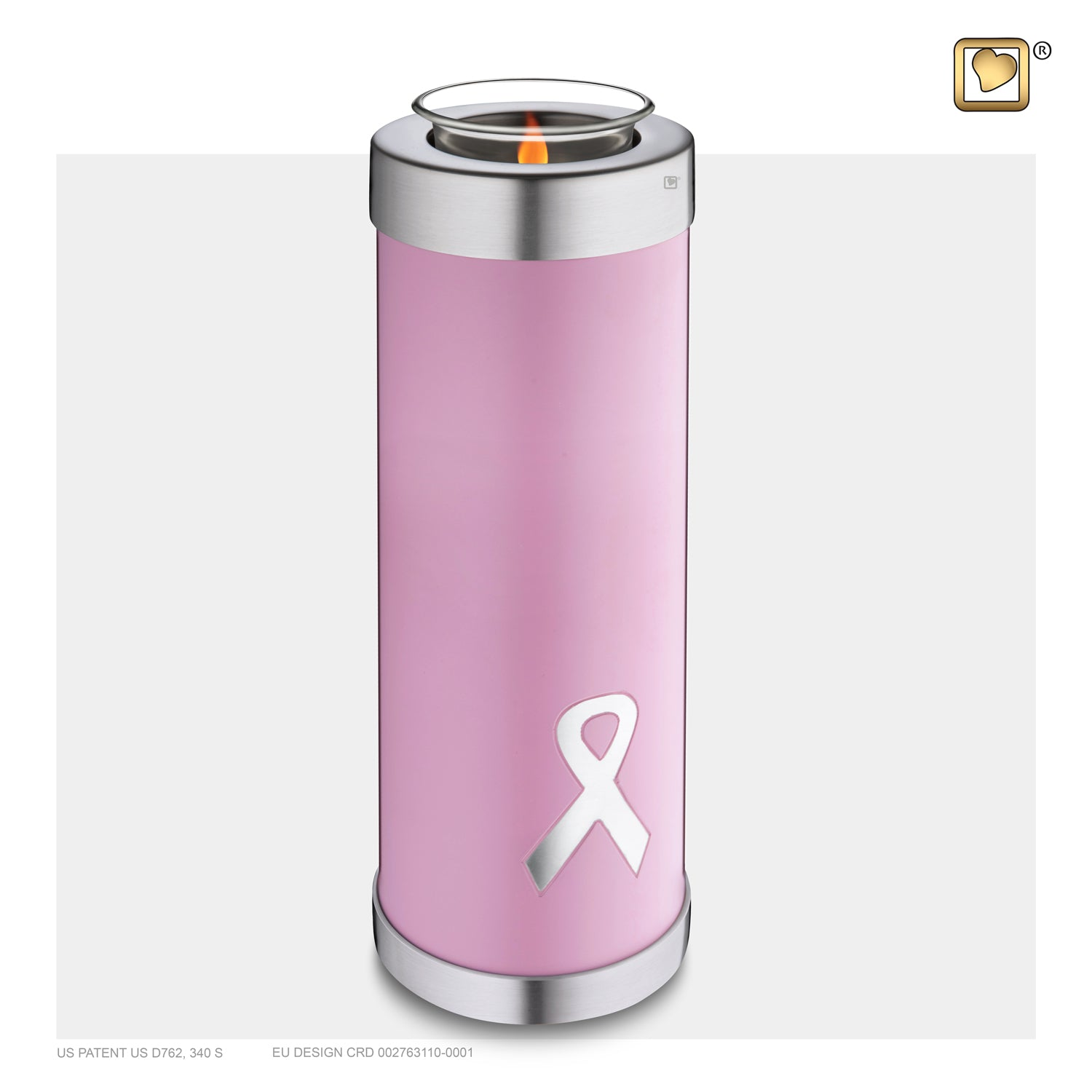 Tealight Tall Awareness Pink