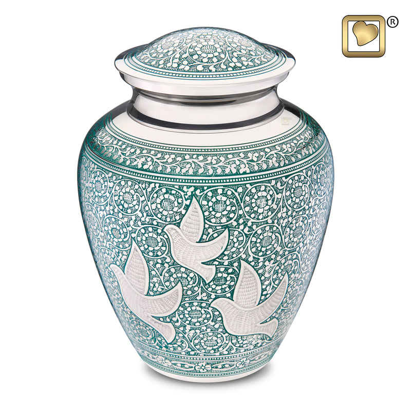 Adult Soaring Doves Cremation Urn