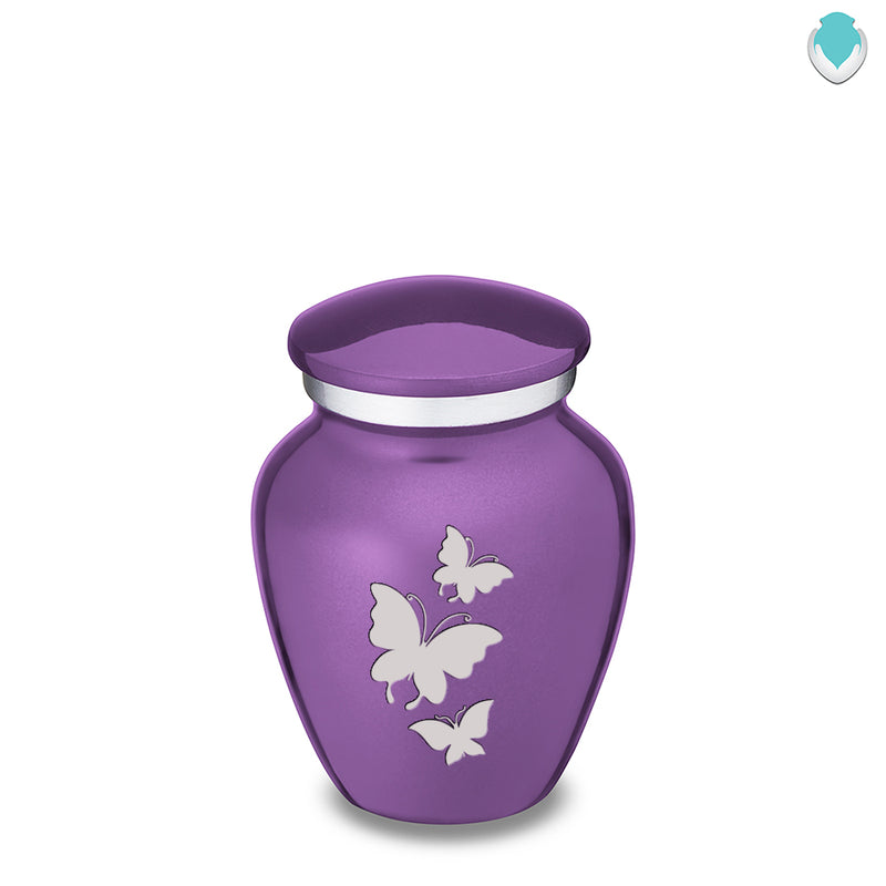 Keepsake Embrace Butterflies Cremation Urn