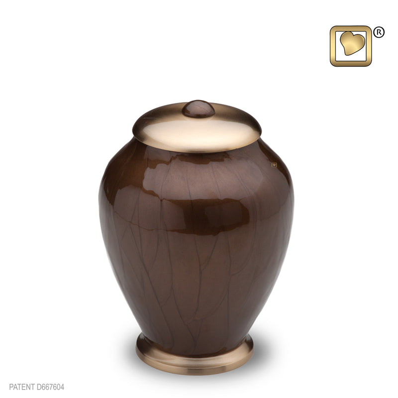 Simplicity Bronze Small Pet Urn