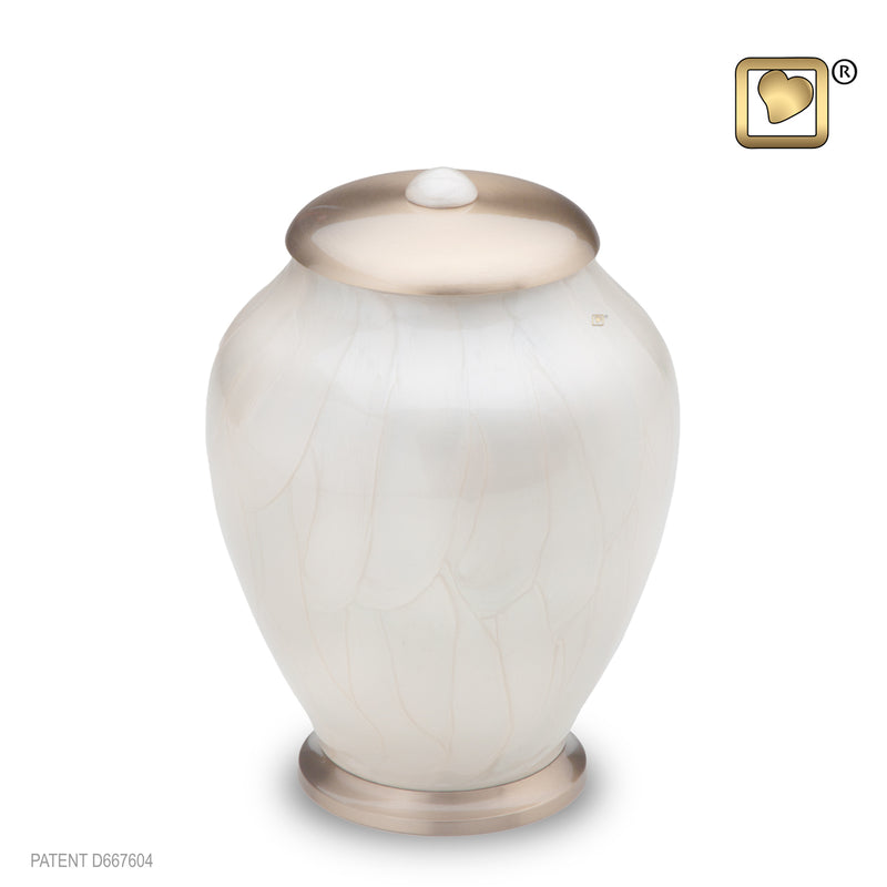 Simplicity Pearl Medium Pet Urn