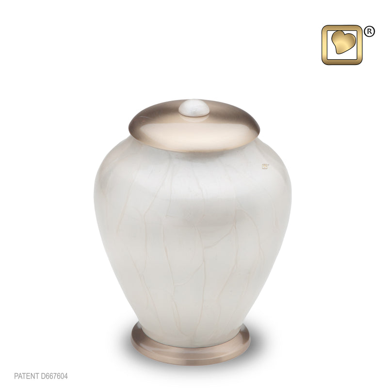 Simplicity Pearl Small Pet Urn