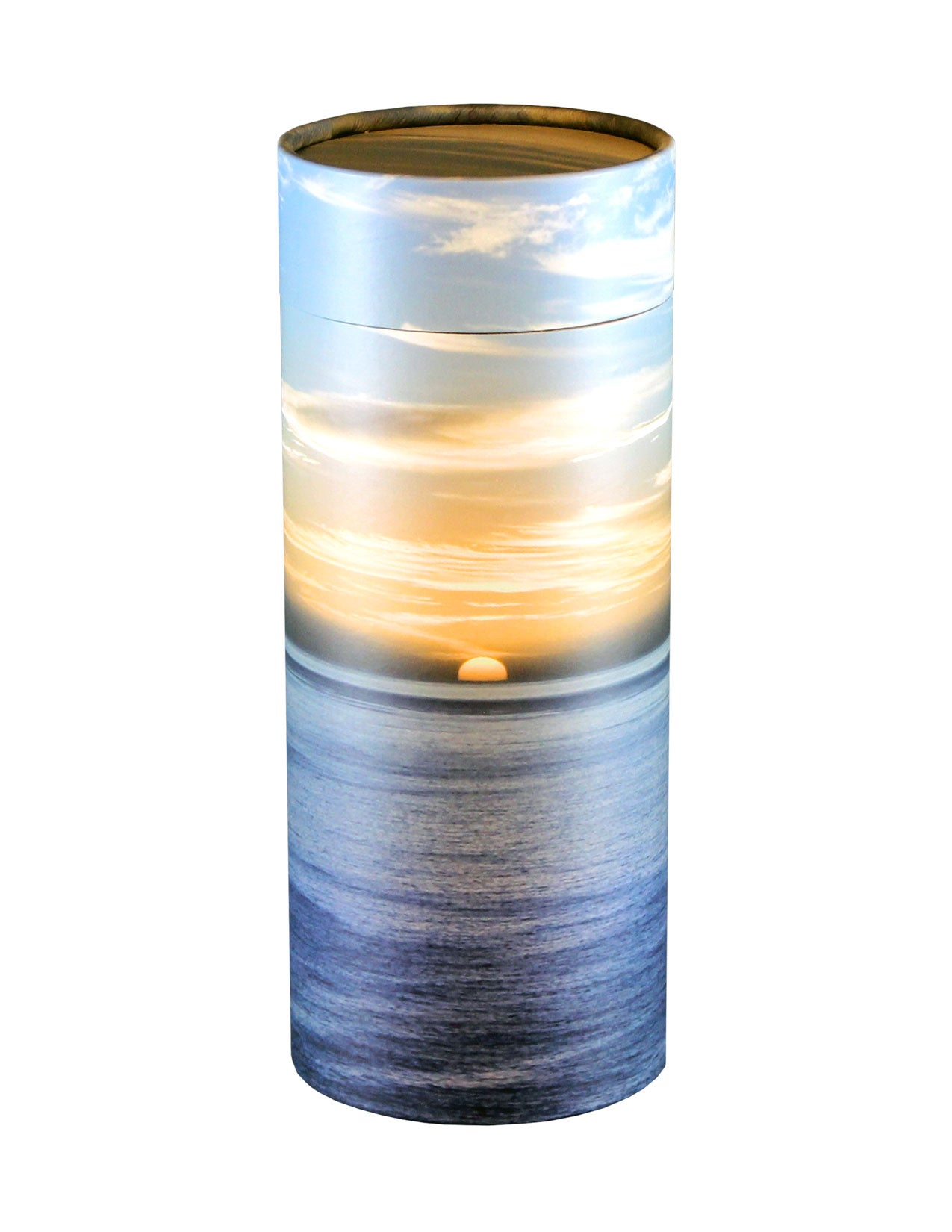 Adult Scattering Tube Ocean Sunset Cremation Urn