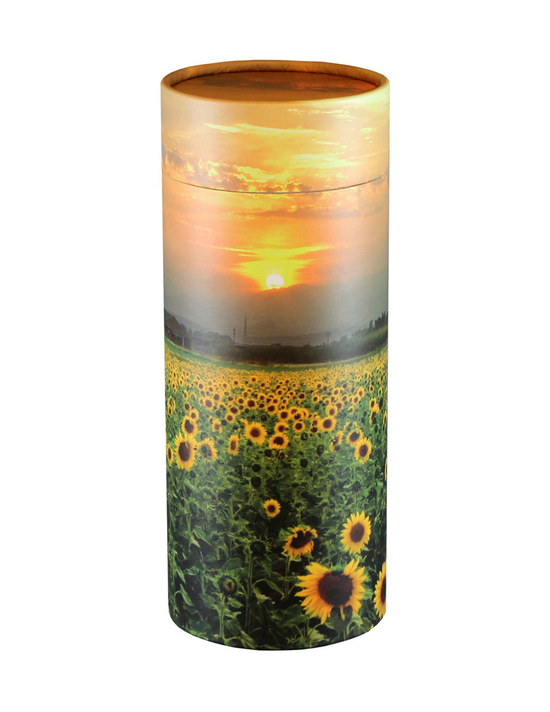 Adult Scattering Tube Sunflower Fields Cremation Urn