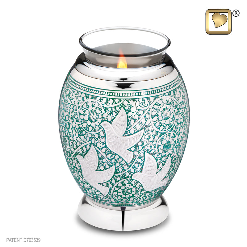 Tealight Returning Home Cremation Urn